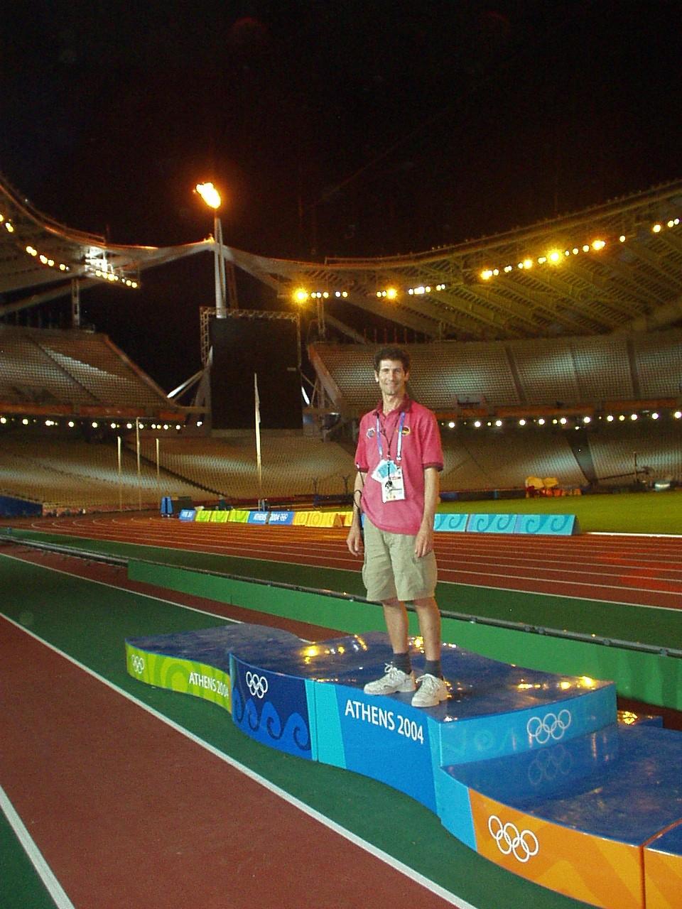 Peter Twartz Athen Olympic Games 2004