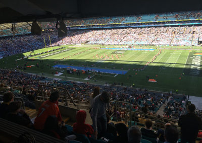 US College Football Season opener in Australia