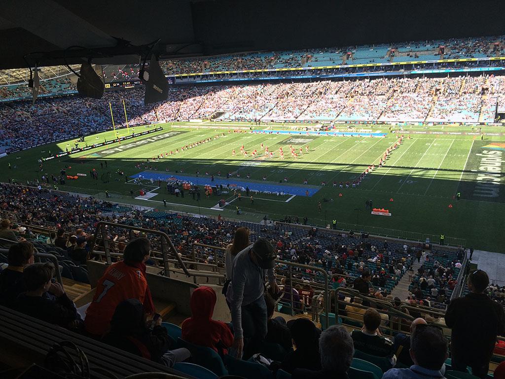 US College Football Season opener at ANZ Stadium 2016